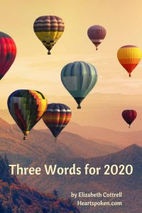 Three words for 2020: hot air balloons rising high