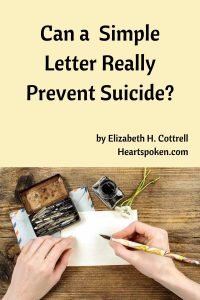 Can A Letter Really Prevent Suicide?