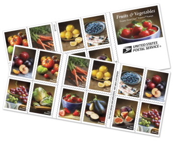 Stamps for thank-you notes