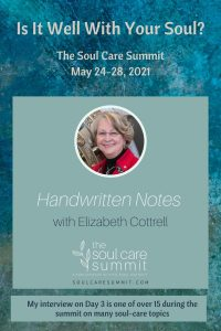 Is it Well With Your Soul? The Soul Care Summit